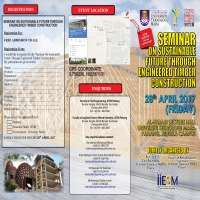 Seminar on Sustainable Future Through Engineered Timber Construction (PAHANG)